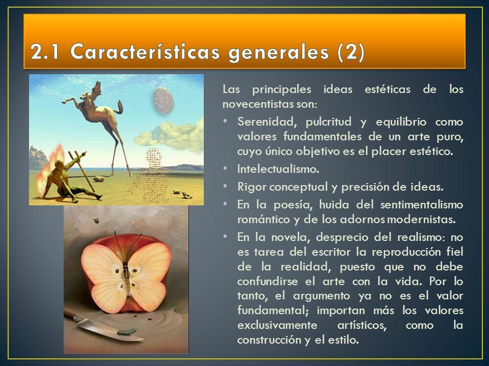 2.1 Características generales (2)
