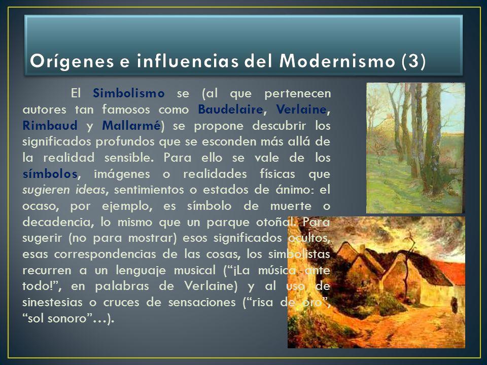 Orígenes e influencias del Modernismo (3)