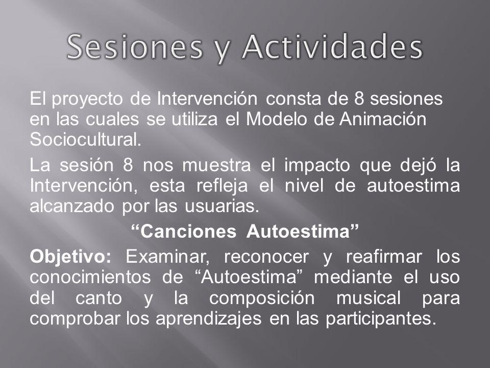 Sesiones y Actividades