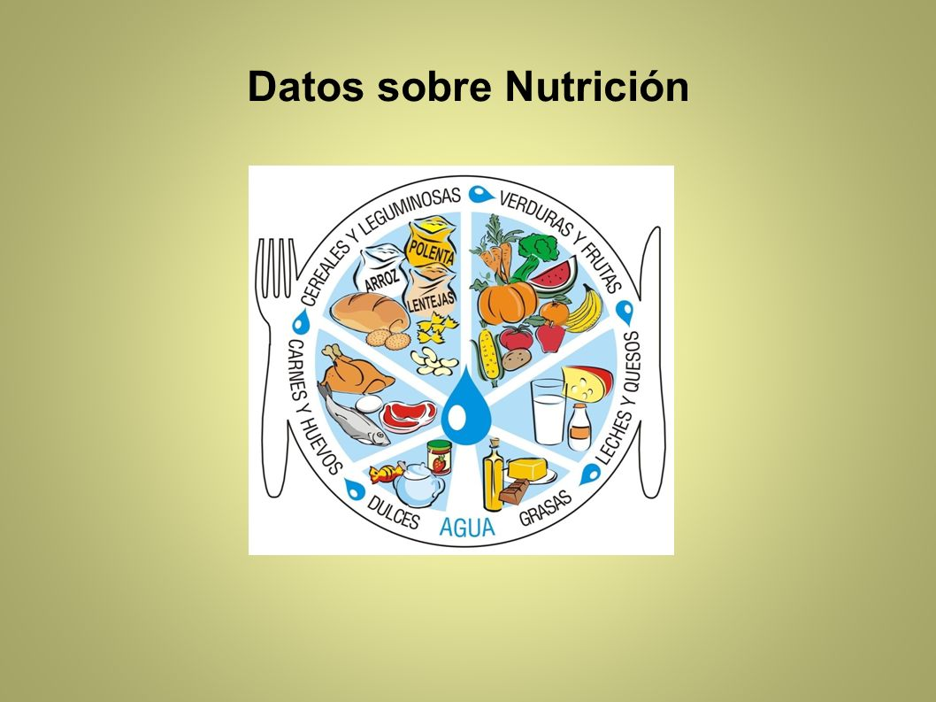 Datos sobre Nutrición