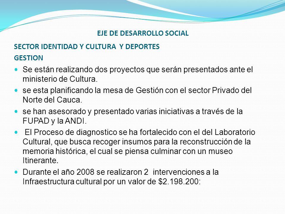 EJE DE DESARROLLO SOCIAL