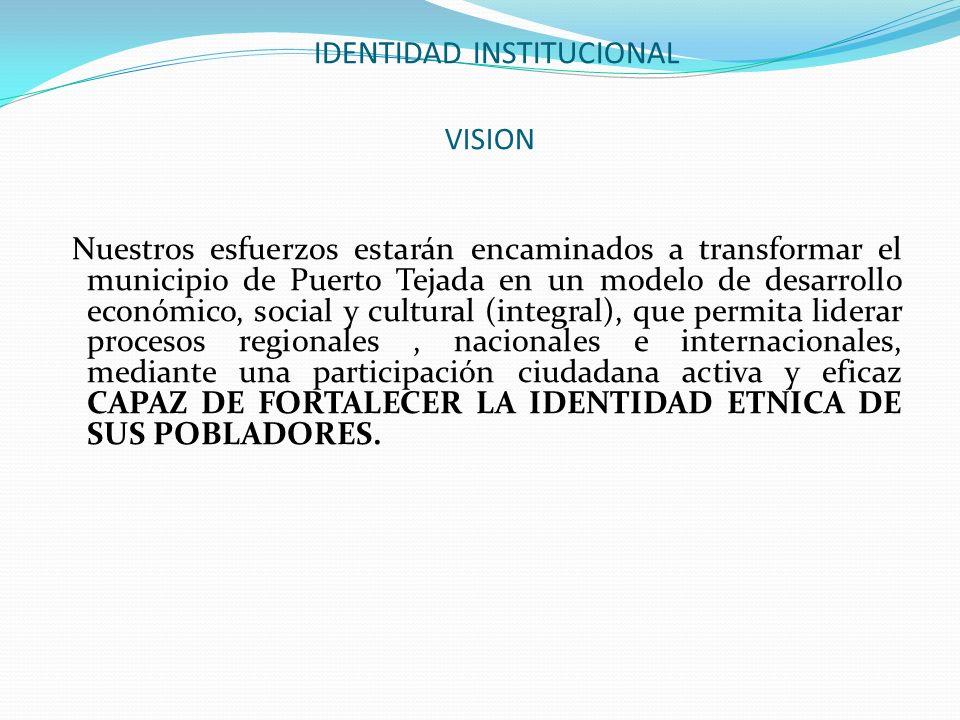 IDENTIDAD INSTITUCIONAL VISION