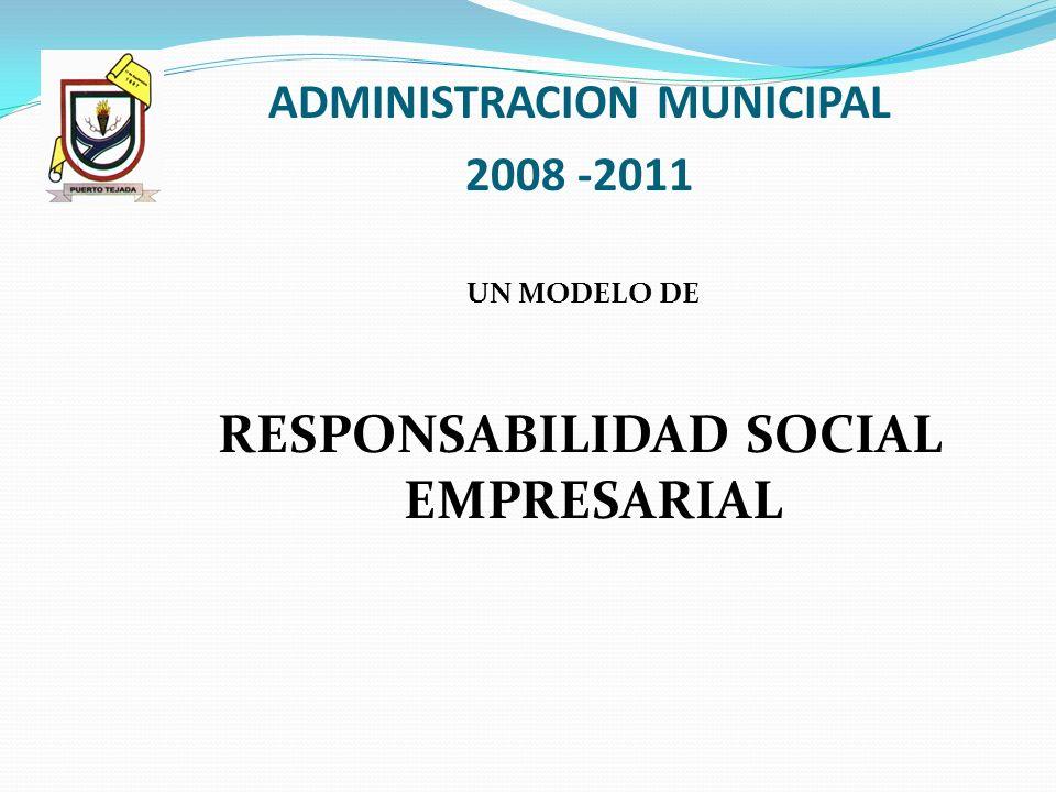 ADMINISTRACION MUNICIPAL RESPONSABILIDAD SOCIAL EMPRESARIAL