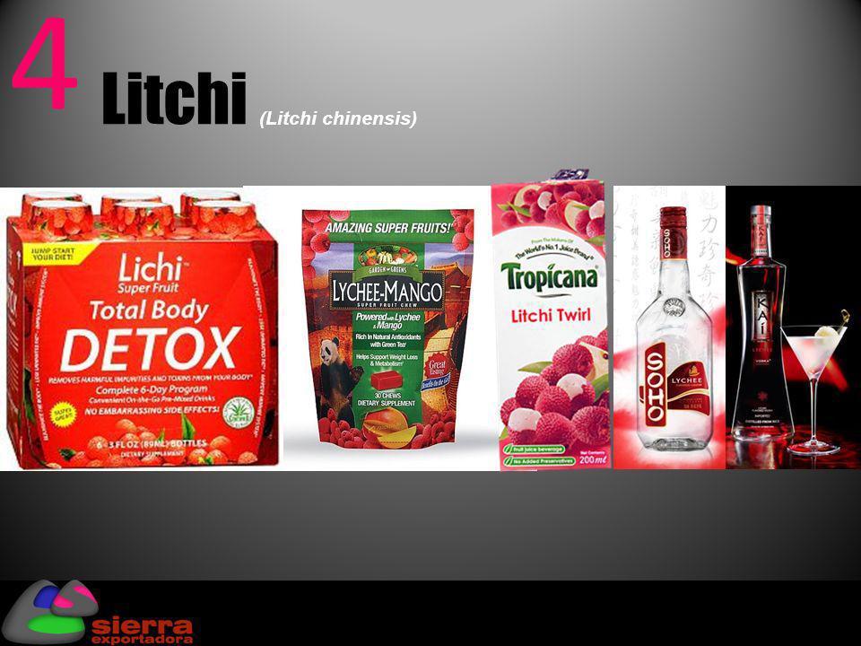 5 Chia (Salvia hispánica) Producción Mundial: