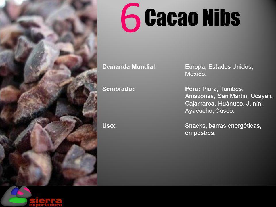 6 Cacao Nibs Fuente: