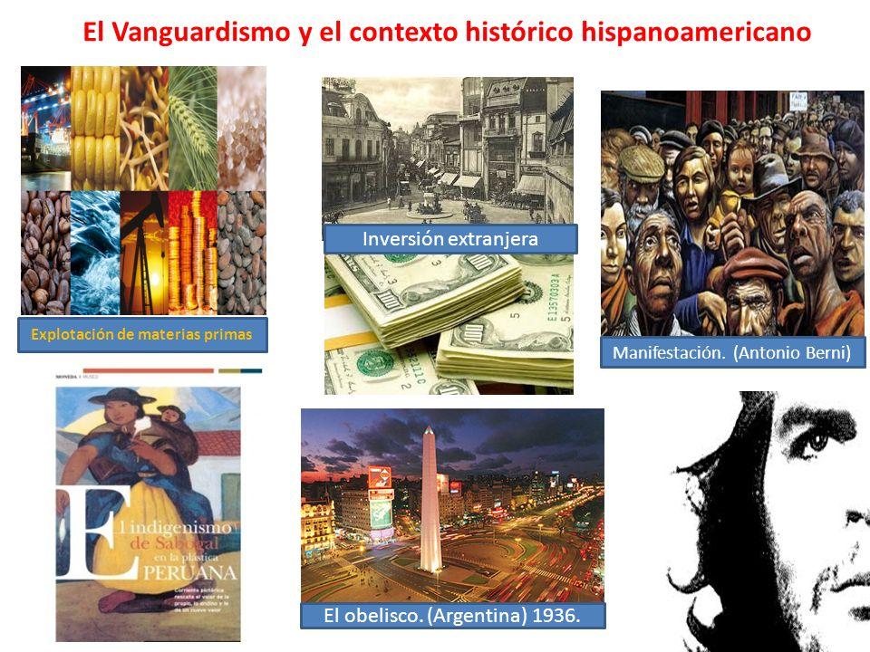 El Vanguardismo y el contexto histórico hispanoamericano
