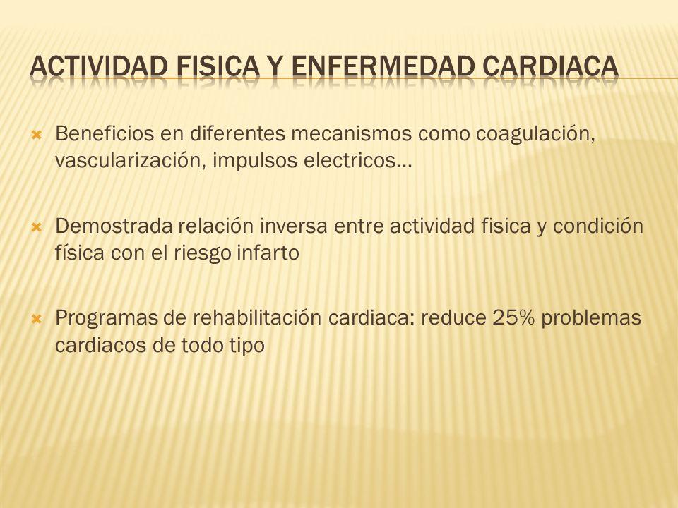 Actividad fisica y enfermedad cardiaca
