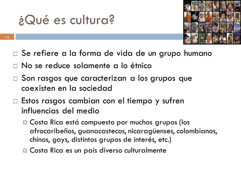 ¿Qué es cultura Se refiere a la forma de vida de un grupo humano