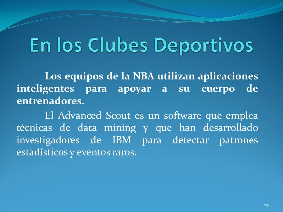En los Clubes Deportivos