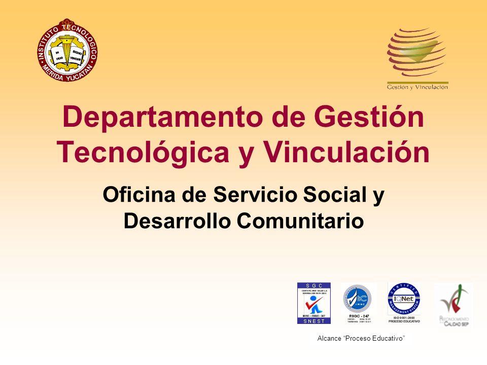 Departamento de Gestión Tecnológica y Vinculación