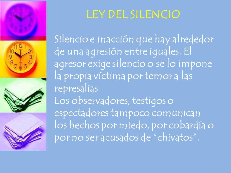 LEY DEL SILENCIO