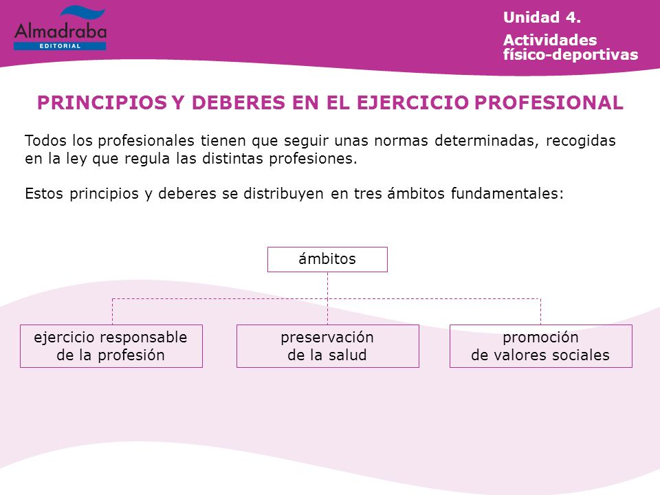 PRINCIPIOS Y DEBERES EN EL EJERCICIO PROFESIONAL