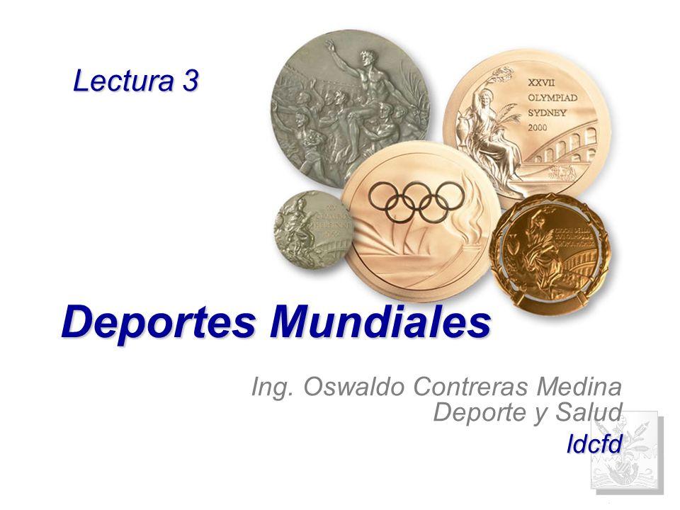 Ing. Oswaldo Contreras Medina Deporte y Salud ldcfd