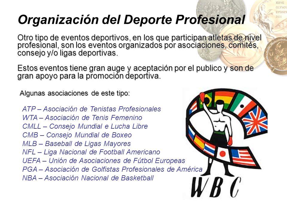 Organización del Deporte Profesional