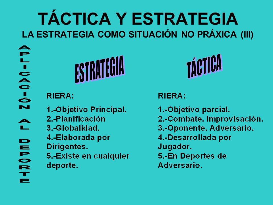 TÁCTICA Y ESTRATEGIA LA ESTRATEGIA COMO SITUACIÓN NO PRÁXICA (III)