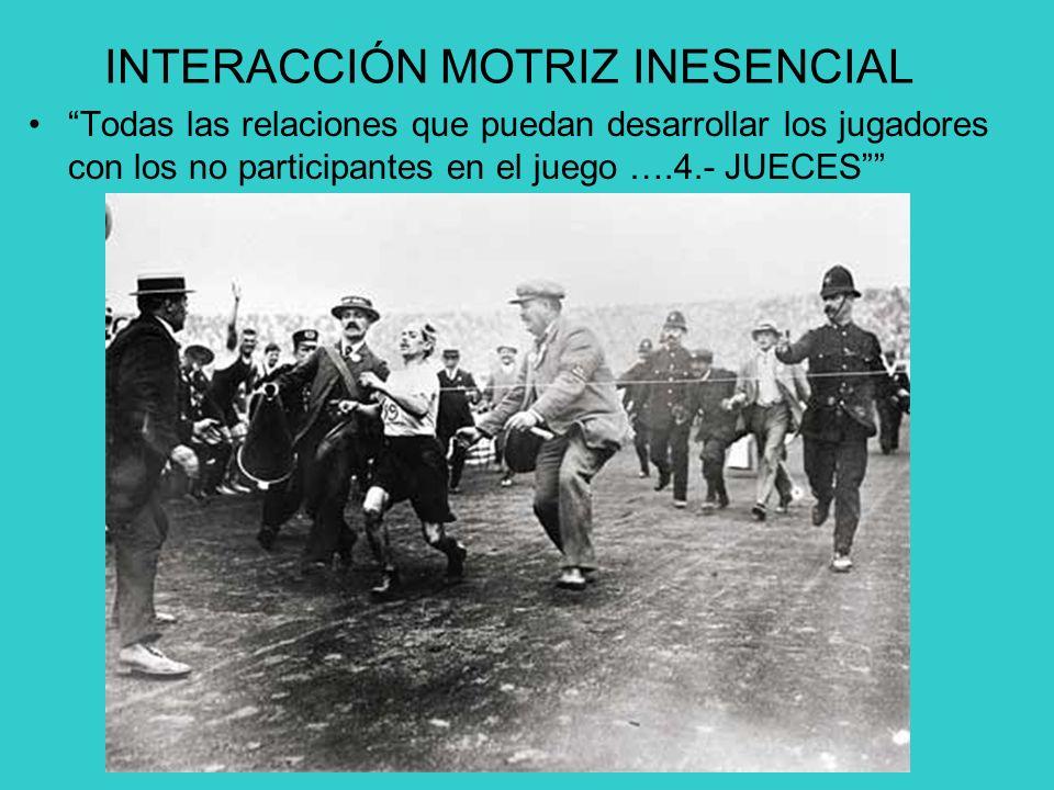 INTERACCIÓN MOTRIZ INESENCIAL