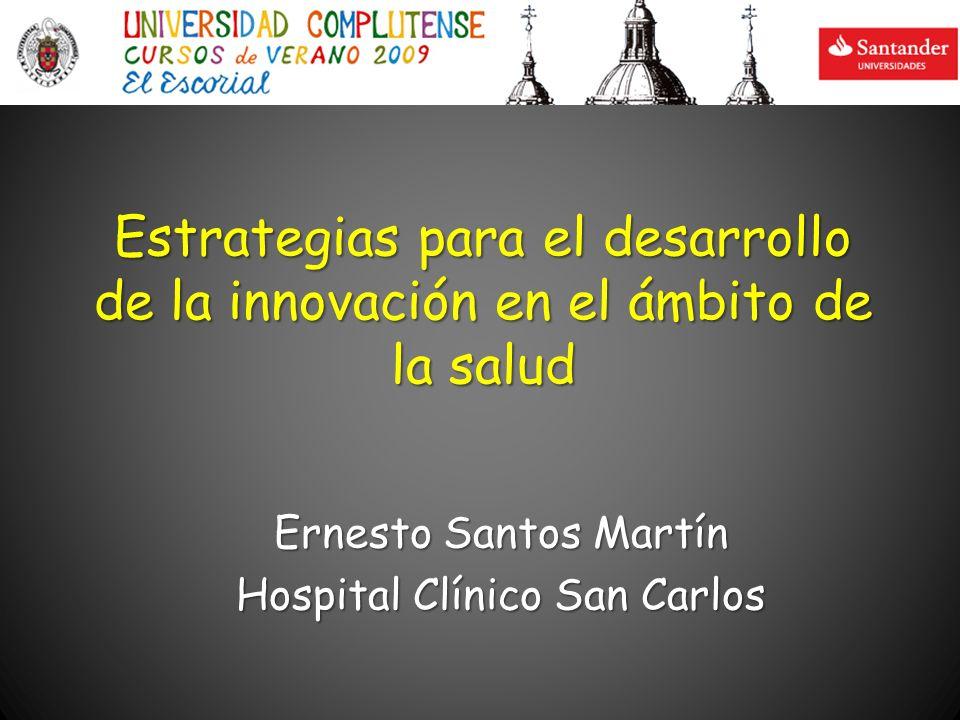 Ernesto Santos Martín Hospital Clínico San Carlos