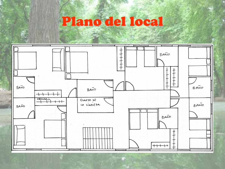Plano del local