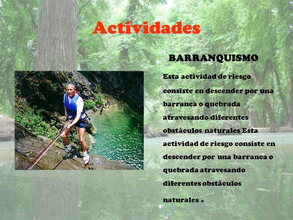 Actividades BARRANQUISMO
