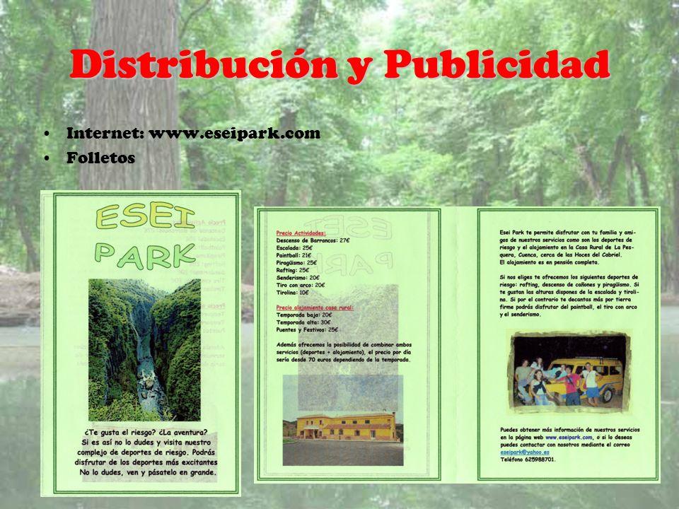 Distribución y Publicidad