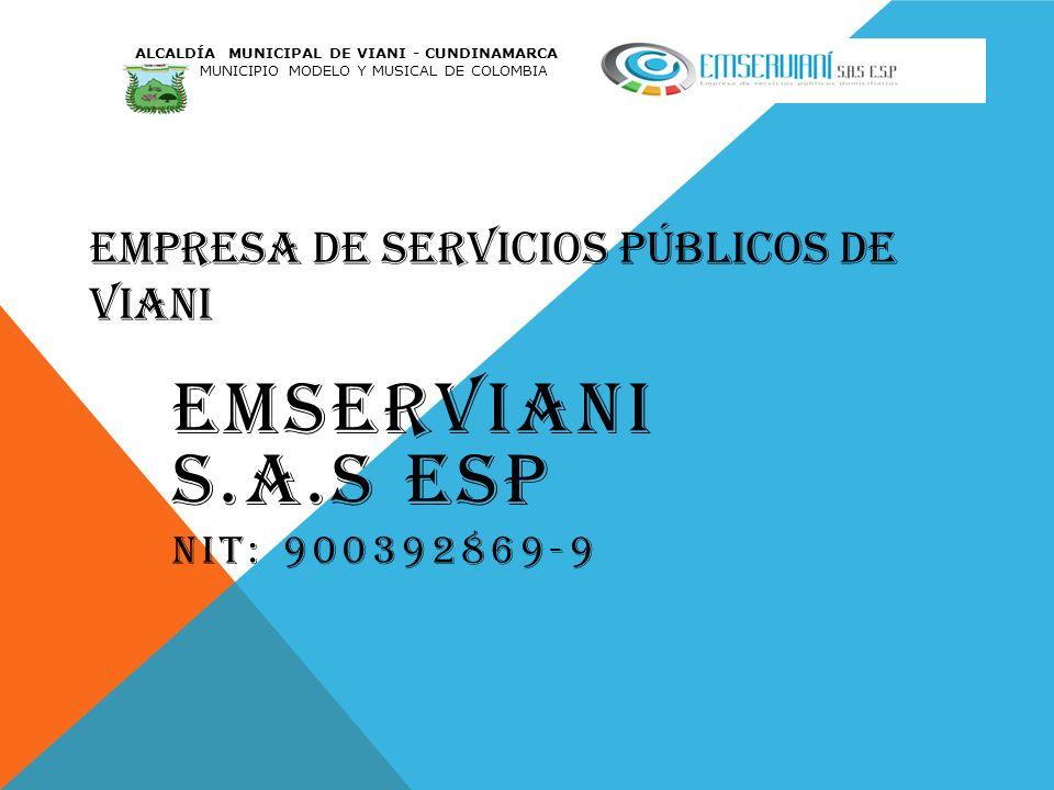 EMPRESA DE SERVICIOS PÚBLICOS DE VIANI