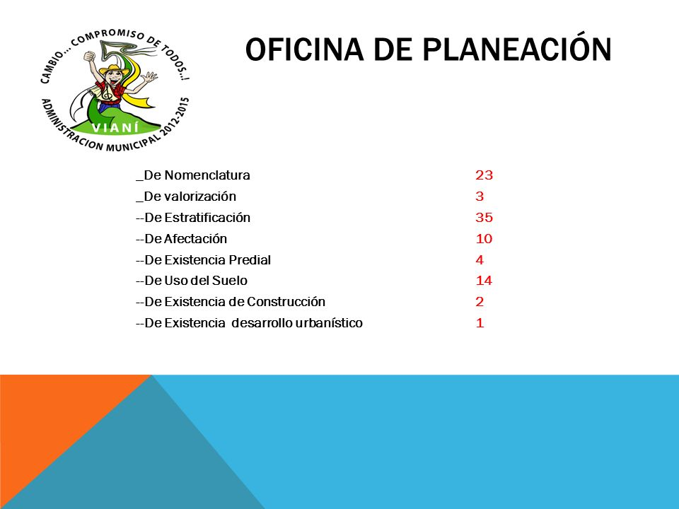 OFICINA DE PLANEACIÓN