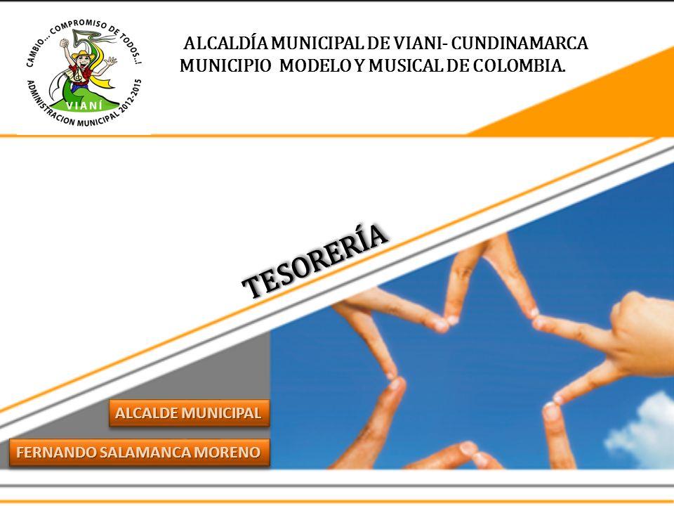 MUNICIPIO MODELO Y MUSICAL DE COLOMBIA.