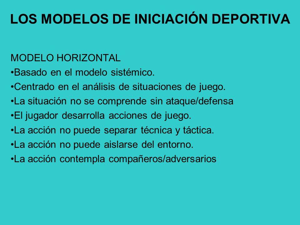 LOS MODELOS DE INICIACIÓN DEPORTIVA
