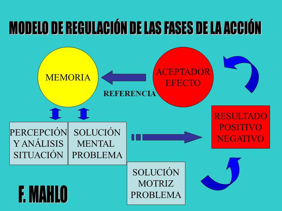 MODELO DE REGULACIÓN DE LAS FASES DE LA ACCIÓN