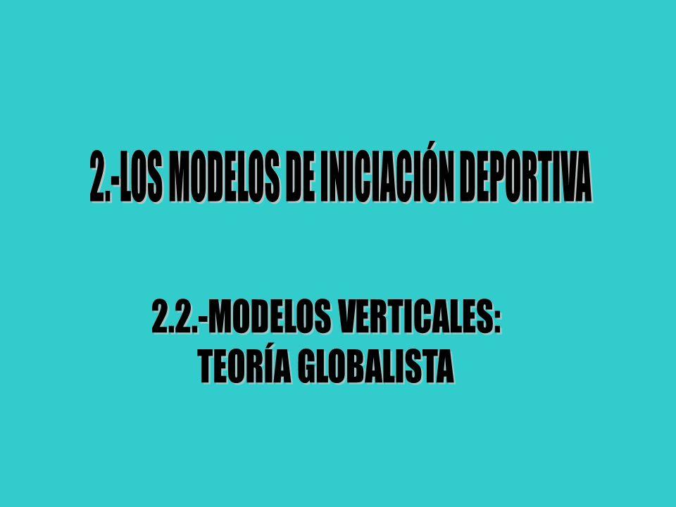 2.-LOS MODELOS DE INICIACIÓN DEPORTIVA