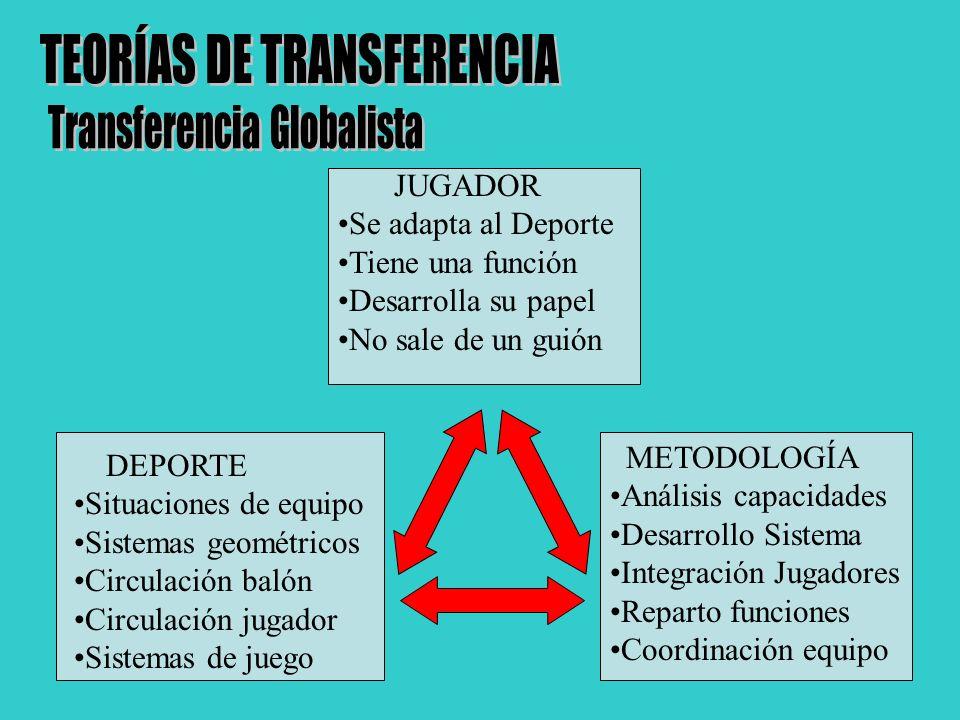 TEORÍAS DE TRANSFERENCIA