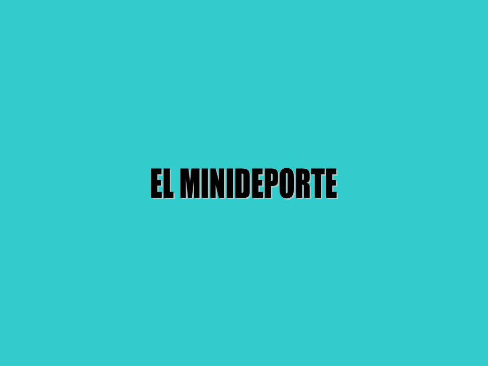EL MINIDEPORTE
