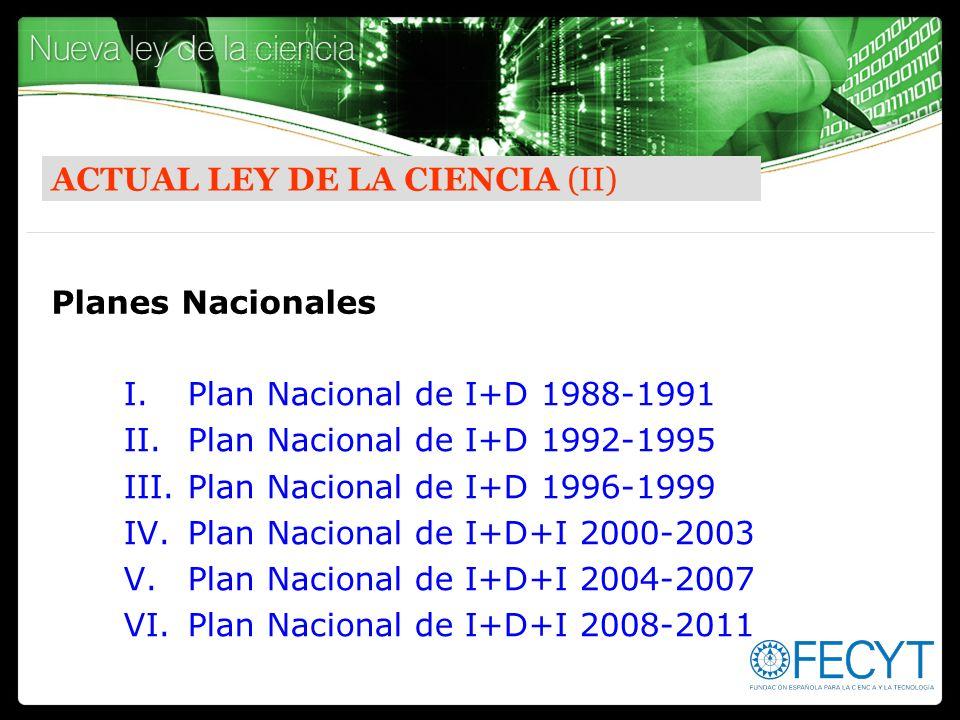 ACTUAL LEY DE LA CIENCIA (II)