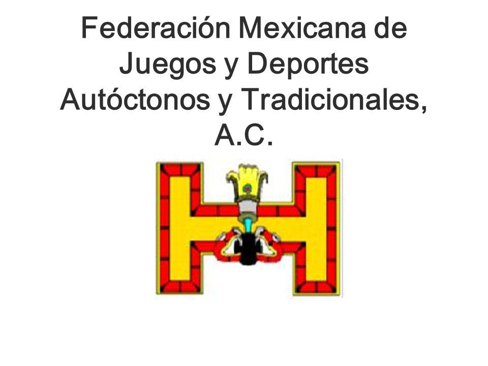 Federación Mexicana de Juegos y Deportes Autóctonos y Tradicionales, A