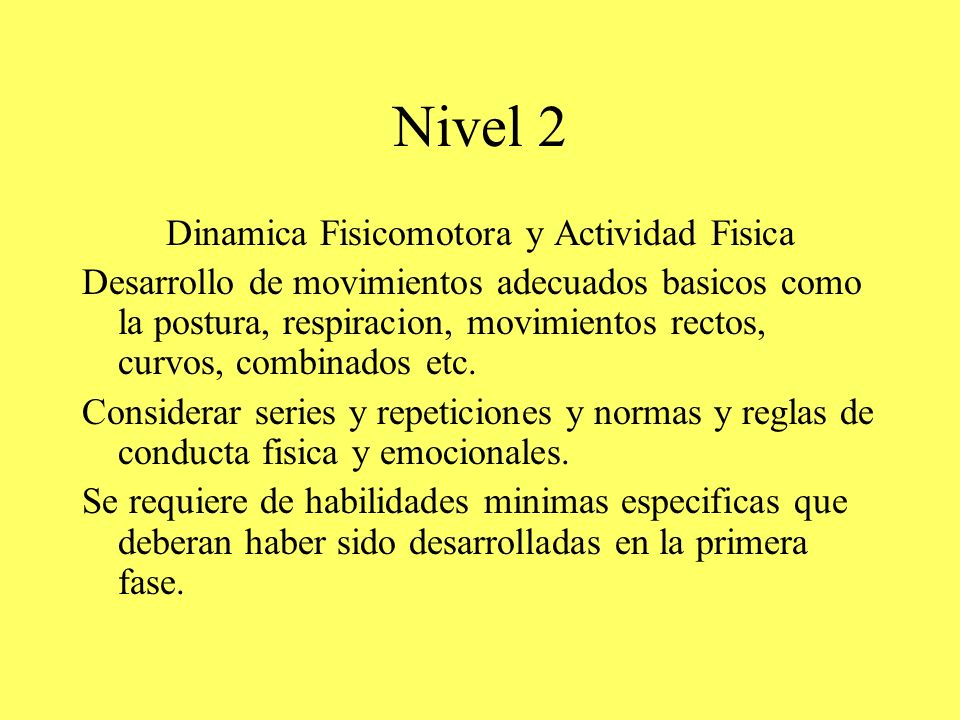 Dinamica Fisicomotora y Actividad Fisica