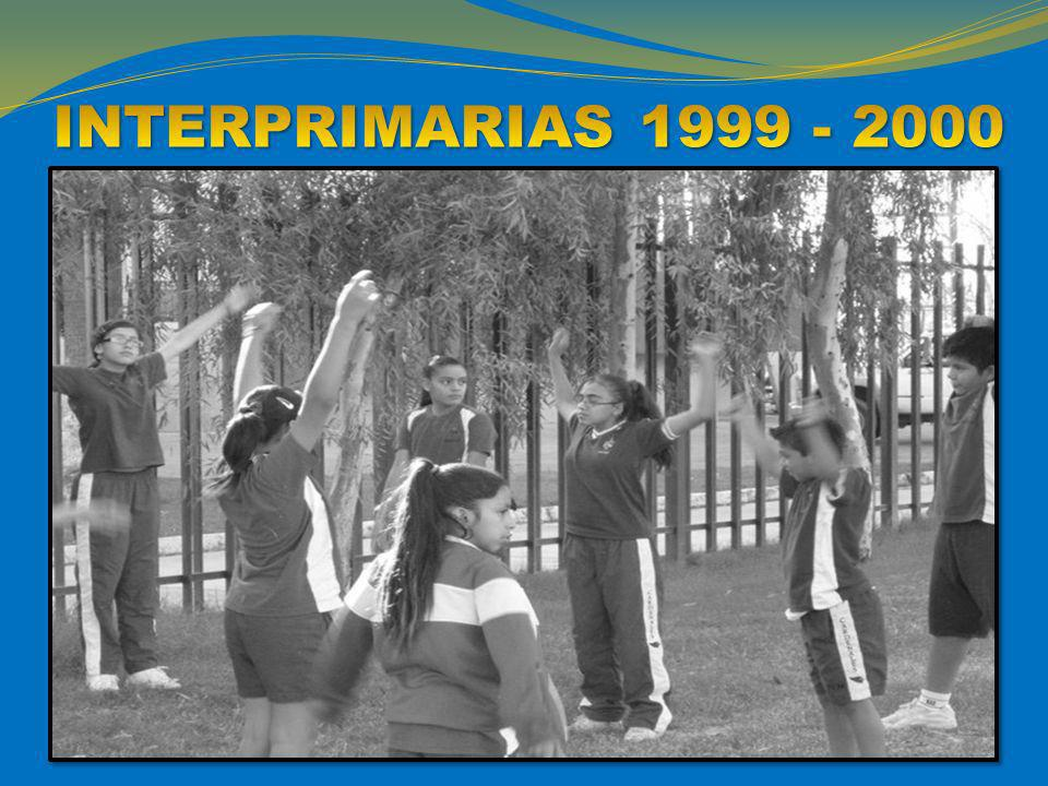 INTERPRIMARIAS 1999 - 2000