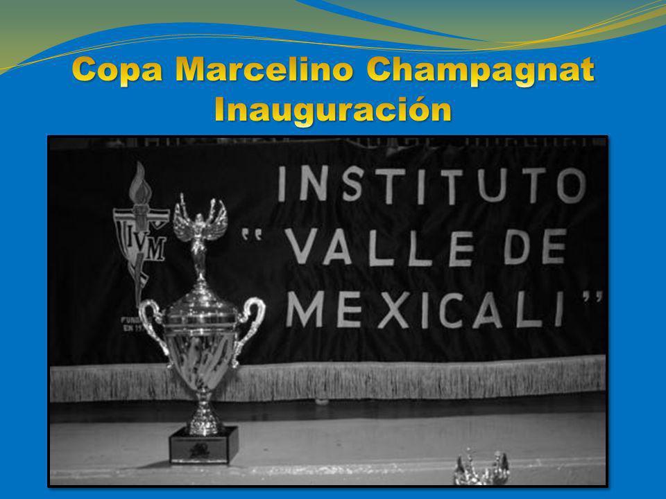 Copa Marcelino Champagnat Inauguración