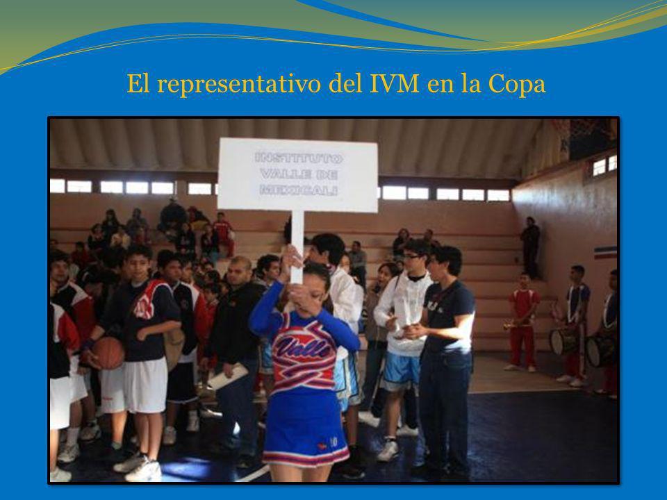 El representativo del IVM en la Copa