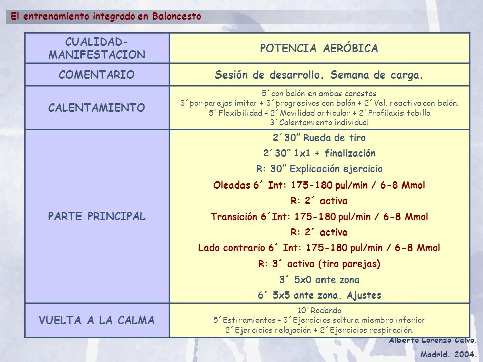 CUALIDAD-MANIFESTACION POTENCIA AERÓBICA COMENTARIO