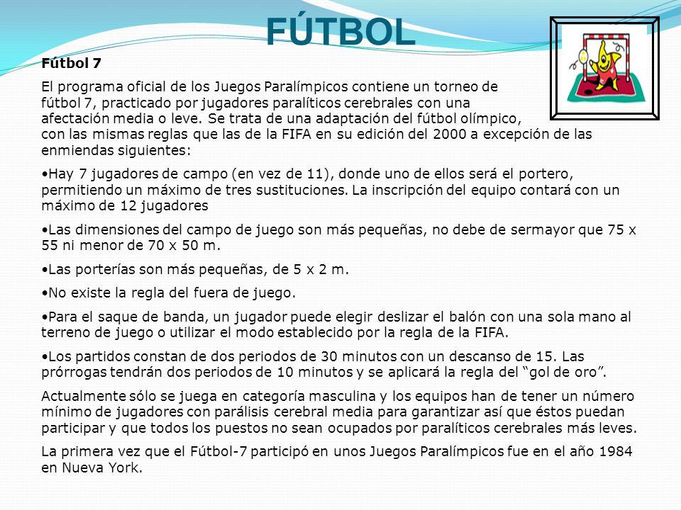 FÚTBOL Fútbol 7.