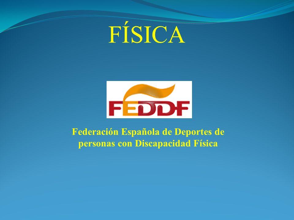 Federación Española de Deportes de personas con Discapacidad Física