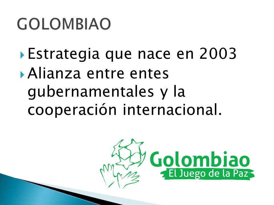 GOLOMBIAO Estrategia que nace en 2003