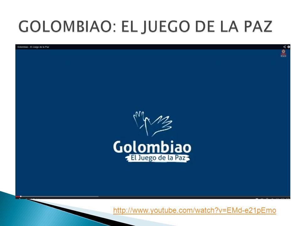 GOLOMBIAO: EL JUEGO DE LA PAZ