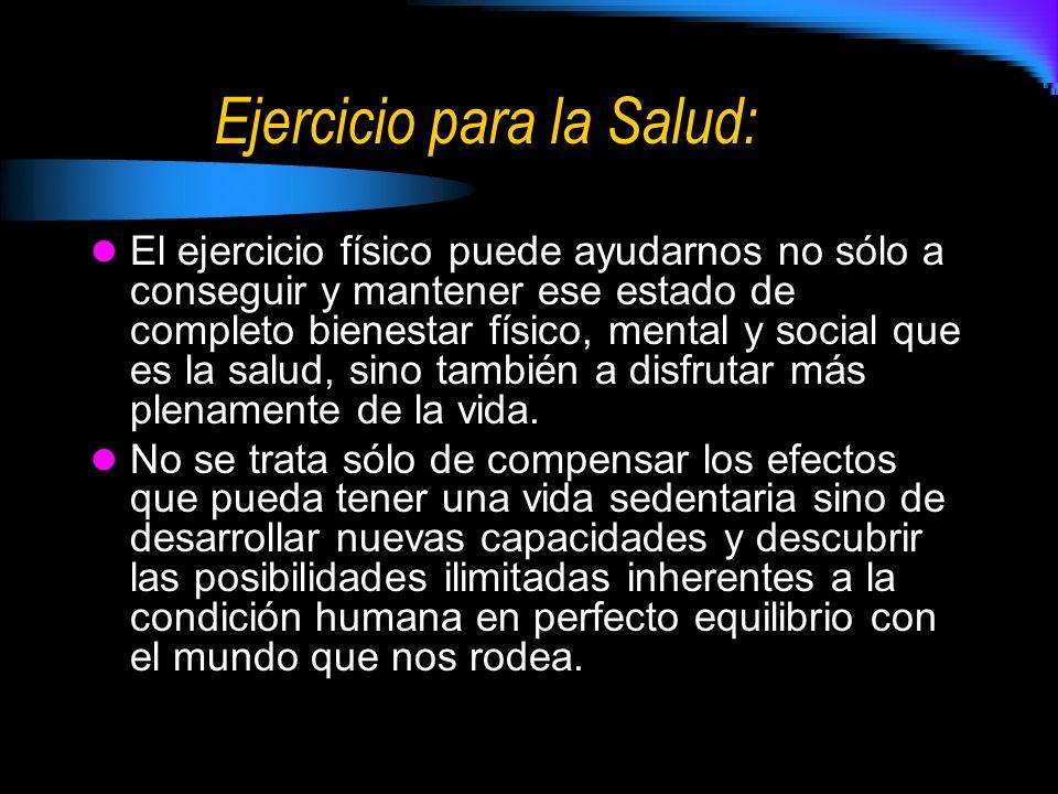 Ejercicio para la Salud: