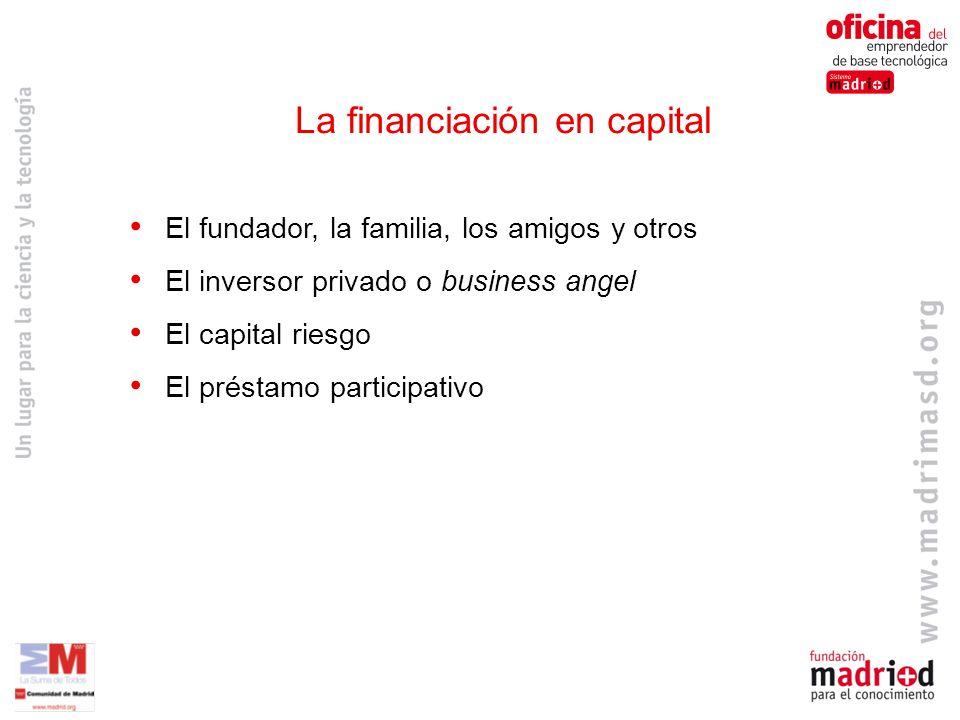 La financiación en capital