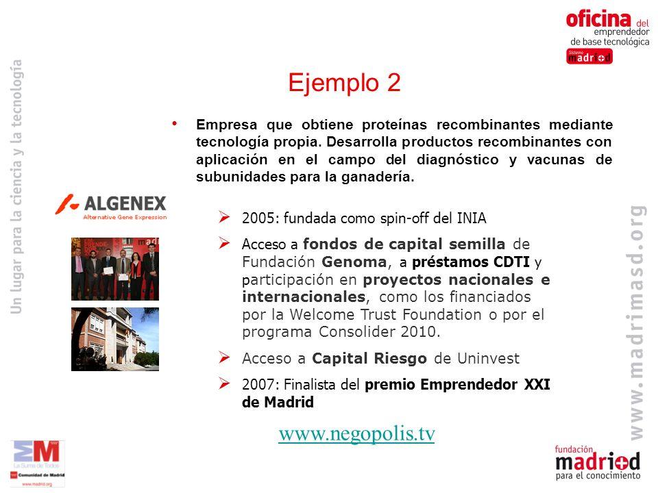 Ejemplo 2 www.negopolis.tv