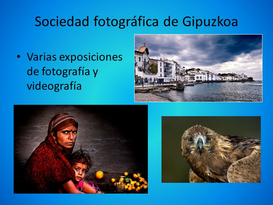 Sociedad fotográfica de Gipuzkoa