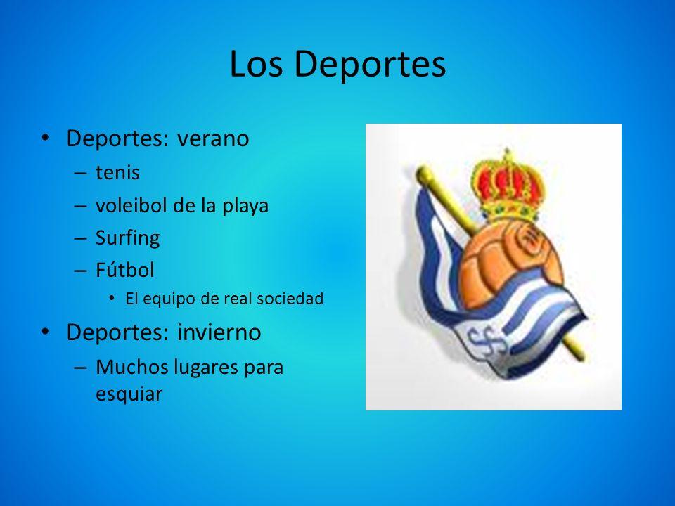 Los Deportes Deportes: verano Deportes: invierno tenis