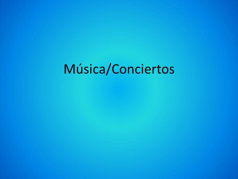 Música/Conciertos