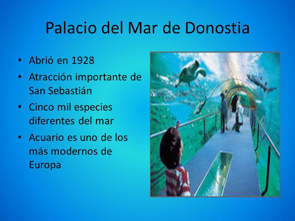 Palacio del Mar de Donostia